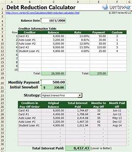 debt snowball worksheet printable search results With budget template to pay off debt