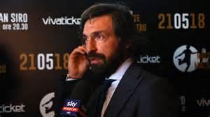 Andrea Pirlo replaces Maurizio Sarri as Juventus manager ...