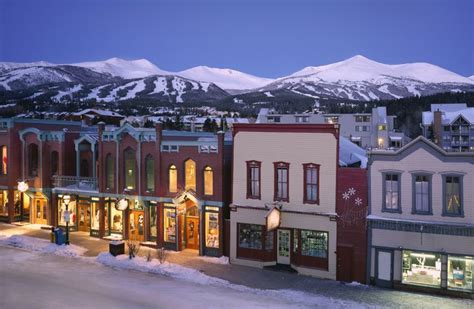cutest towns in america cutest town in america breckenridge pinterest