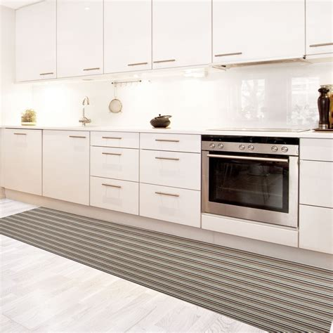 tapis pour cuisine tapis de cuisine vinyle hydrofuge antidérapant sur