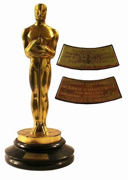 Oscar Award Academy Memorabilia Citizen Film Kane