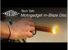 Motogadget mBlaze Disc Turn Signals Revival Cycles Tech