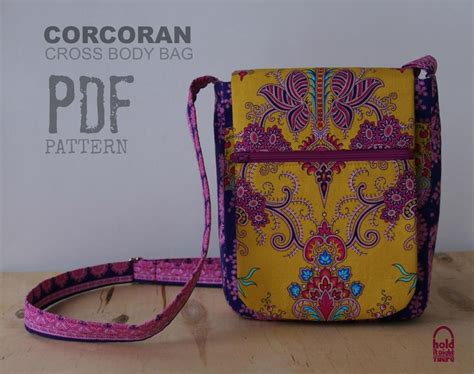 corcoran cross body bag  pockets craftsy
