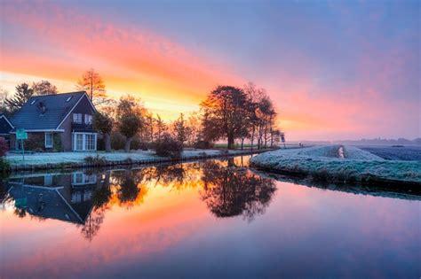 photo morning sunrise colorful  image