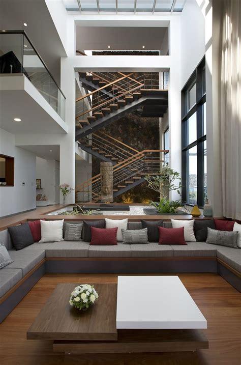 long house sunil patil  associates archocom long house modern houses interior