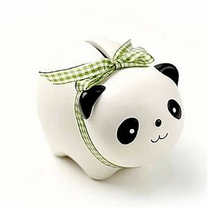 AIBEI Zakka Ceramic Animal Money Box 1PC Cute Creative Pig