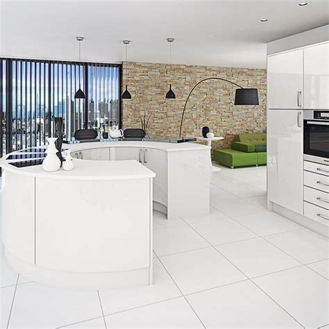 tiles to go with white gloss kitchen white kitchens for every style and budget 9798