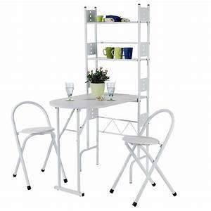 Küchentisch Mit Stühle : k chentisch set jonas mit regal 2 st hle caro m bel ~ Michelbontemps.com Haus und Dekorationen
