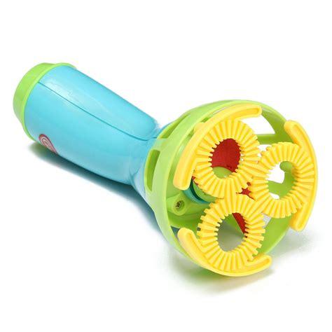mainan gelembung sabun automatic water gun multi