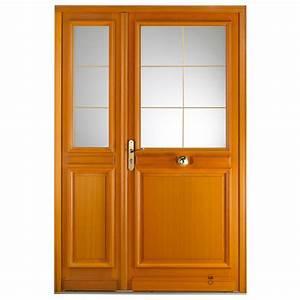 porte d39entree bois labessiere pasquet menuiseries With porte d entree exterieure