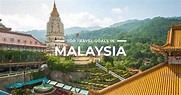 20 BEST PLACES to visit in Malaysia + THINGS TO DO