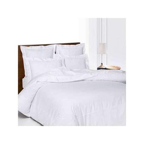 linge de lit brod 233 versailles la compagnie du blanc