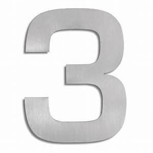 Numéro De Maison Design : signo chiffre 3 blomus numro de maison inox ~ Premium-room.com Idées de Décoration