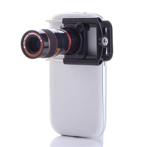 cell phone lens universal 8x zoom optical lens mobile phone telescope