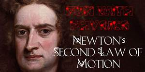 Newton's Second Law of Motion | Little Pink Apple