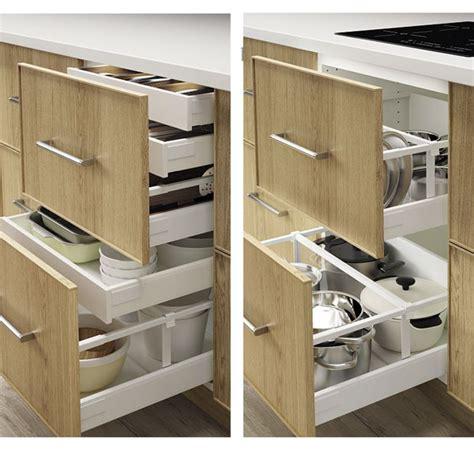rangement coulissant cuisine ikea amnagement tiroirs cuisine optima universal dans le