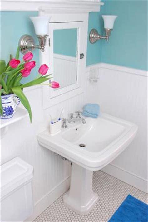 small bathroom chic vibrant colors make small bathrooms