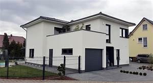 Stadtvilla Mit Garage : stadtvilla mit garage und carport gloyna haus bau gmbh ~ Lizthompson.info Haus und Dekorationen