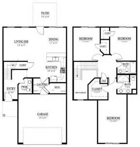 two story house plans square two story home plans