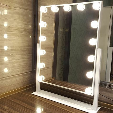Vanity Mirror With Bulbs - 15 led bulbs vanity makeup mirror with lights