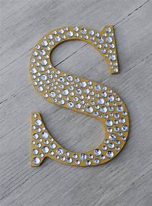 sparkle gold bling decorative wall letters wedding decor With decorative fabric letters for walls