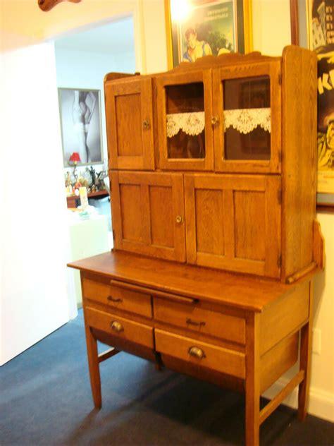Antique Hoosier Cabinet by Beautiful Vintage Hoosier Cabinet Oak Ebay