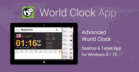 weltzeituhr app fuer windows