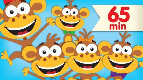 Five Little Monkeys  + More Super Simple Songs & Nursery Rhymes Youtube