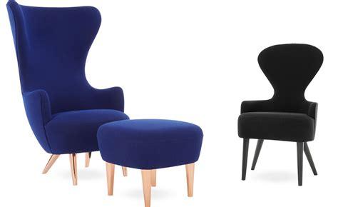 wingback lounge chair ottoman hivemodern