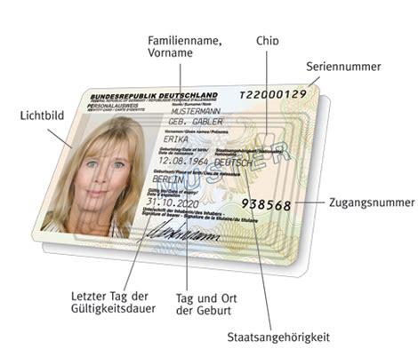 personalausweis  beantragen geht das chip