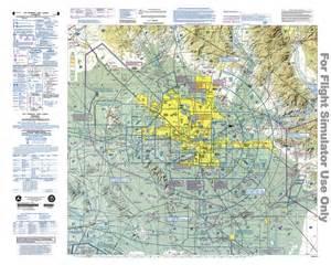 VFR Terminal Area Chart Phoenix