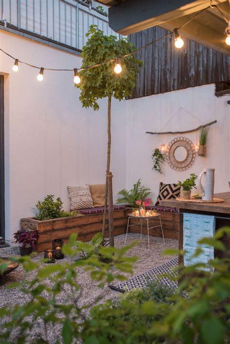 Deko Für Die Terrasse by Diy Terrassen Makeover Vorher Nachher Teil 2 Garten