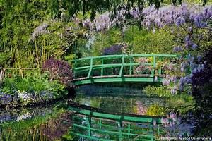 les plus beaux jardins du monde en 15 photos detente jardin With pont pour bassin de jardin 15 un peintre et son jardin monet et giverny paysages