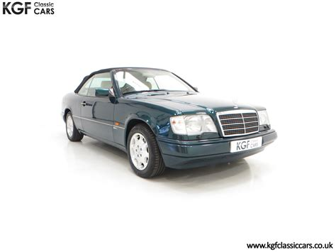 1996 an outstanding mercedes w124 e320 sportline cabriolet sold car and classic