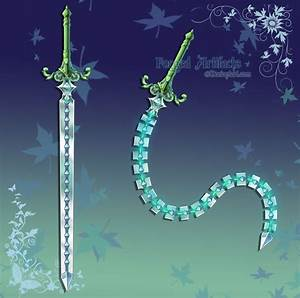 Custom Whip Sword by Forged-Artifacts on DeviantArt