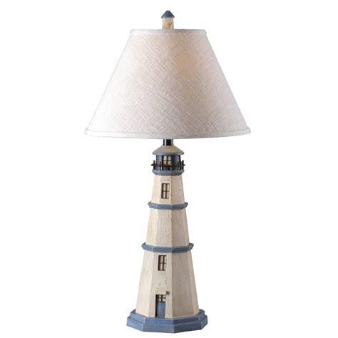 Lighthouse Table Lamp  Nautical Decor Whyrllcom