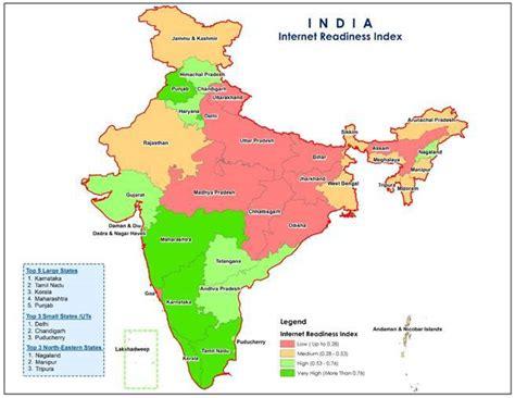 delhi tops internet readiness  indian states