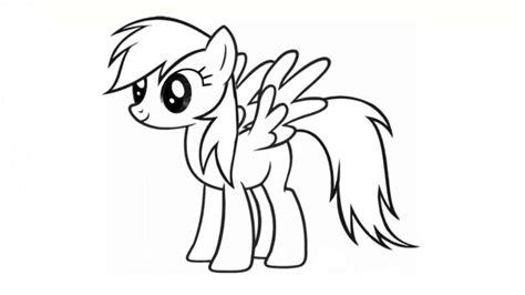 mewarnai gambar kuda poni kreasi warna