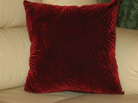 burgundy throw pillows burgundy velvet handmade throw pillow
