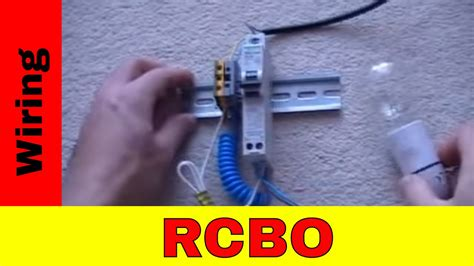How Wire Rcbo Youtube