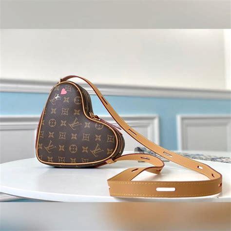 louis vuitton lv cruise  heart shaped monogram shoulder bag video louis vuitton bag