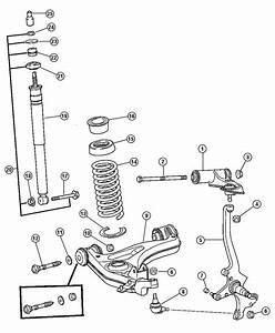 2010 Jeep Grand Cherokee Screw  Suspension
