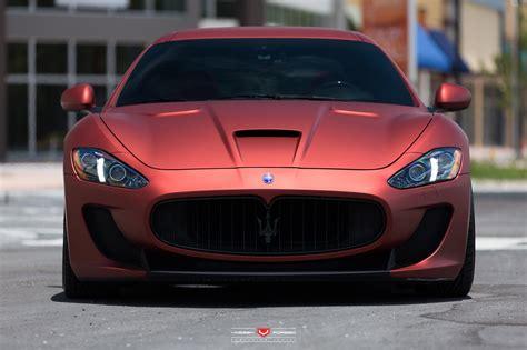Gambar Mobil Maserati Granturismo by Maserati Granturismo Mc Sportline By Vossen Damnedwerk
