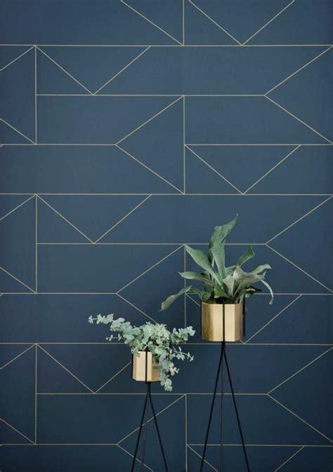 papier peint cuisine leroy merlin déco salon papier peint leroy merlin geometrique bleu