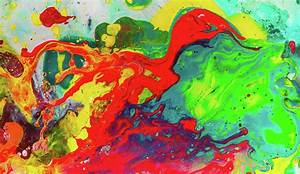 Playful Spring - Colorful Happy Abstract Art Painting