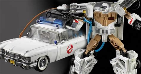 Ghostbusters Ecto-1 Is Officially A Transformers Toy