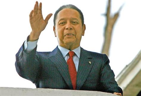 Jean Claude Duvalier Brutal Haitian Dictator Who Ruled