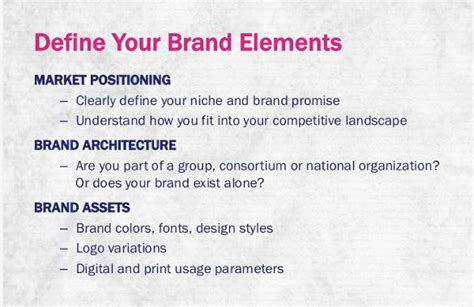 brand strategy templates   sample