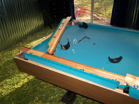 how to refelt a pool table removing pool table cushions properly before refelting them
