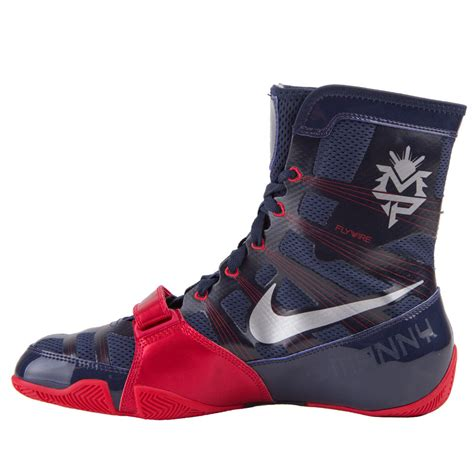 boxing shoes nike hyperko mp blue fighters europe